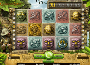Image of Gonzo's Quest slot game