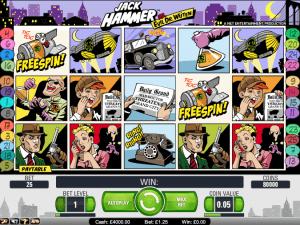 Image of Jack Hammer slot game