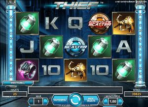 Image of Thief slot game