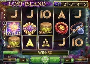 new lost island slots
