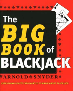 Image of the book cover of The Big Book Of Blackjack by Arnold Snyder