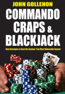 Image of the book cover of Commando Craps & Blackjack by John Gollehon