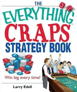 Image of the book cover of The Everything Craps Strategy Book by Larry Edell