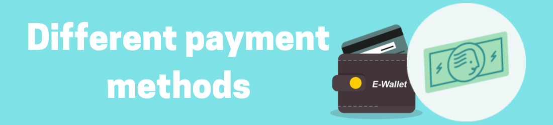 different payments