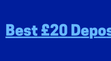 UK £20 Deposit Casinos