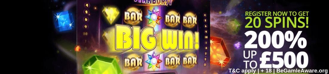 hopa £500 bonus 120 spins