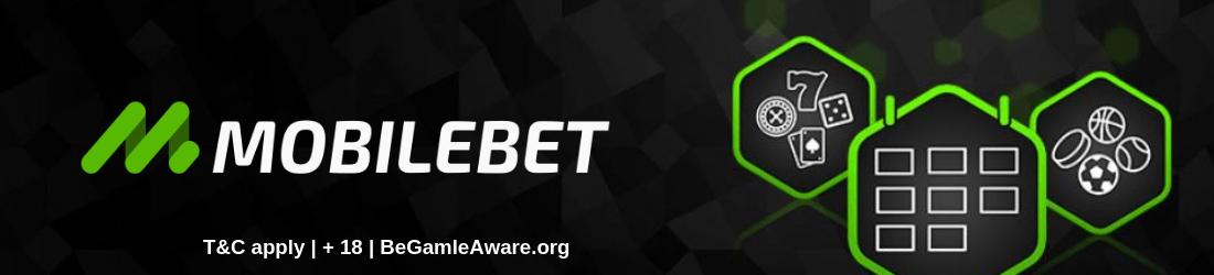 mobilebet 100% bonus of up to £25